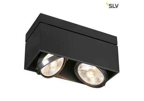 SLV Kardamod Double ES111 ZWART plafondlamp