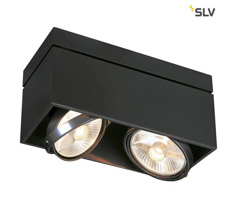 Kardamod Double ES111 ZWART plafondlamp