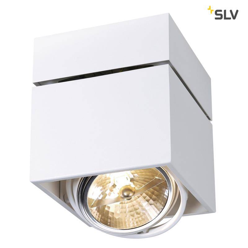 SLV Kardamod Single QRB WIT plafondlamp