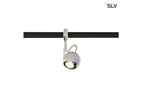 SLV Light Eye GU10 Easytec 2 chroom railverlichting
