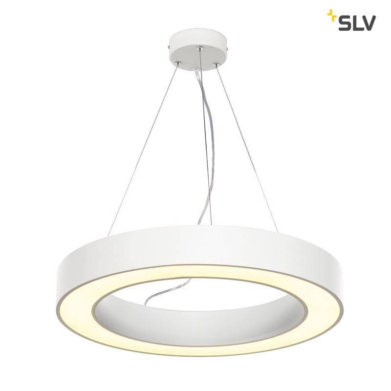 SLV Medo Ring 60 WIT hanglamp