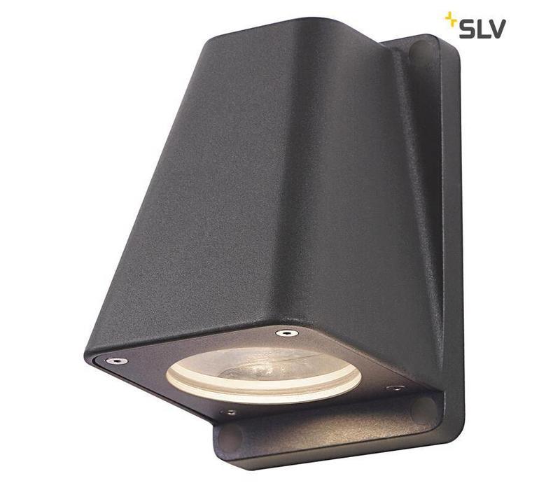 Wallyx GU10 ANTRACIET wandlamp