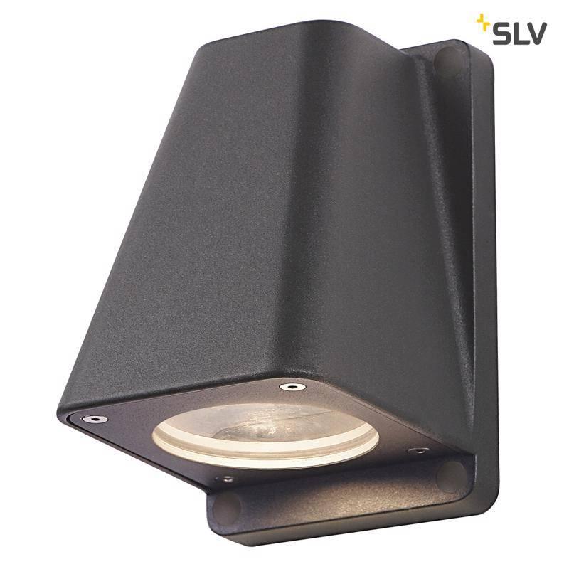 SLV Wallyx GU10 ANTRACIET wandlamp