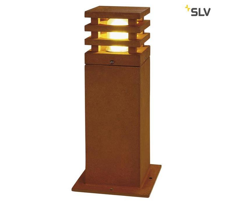 Rusty Square 40 tuinlamp