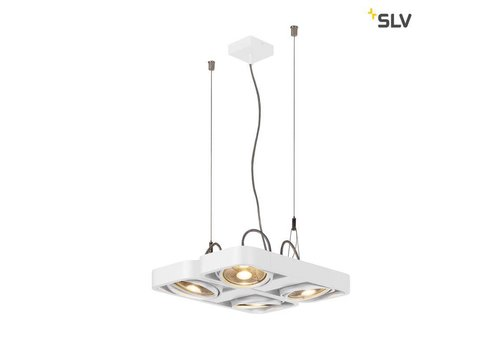 SLV Aixlight R2 SQUARE led QPAR111 Wit hanglamp