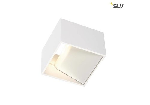 SLV LOGS IN LED Wit wandlamp
