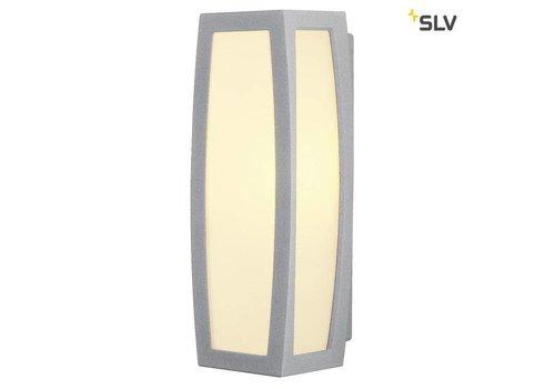 SLV Meridian BOX grijs wandlamp