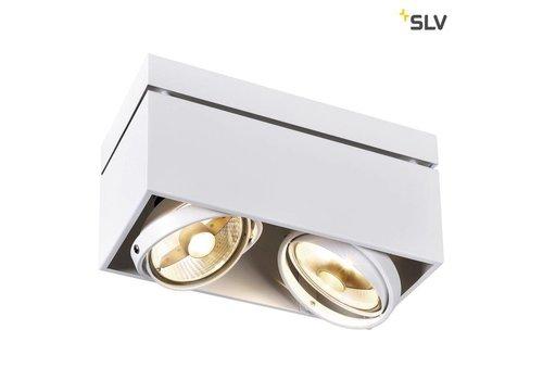 SLV Kardamod Double ES111 WIT plafondlamp