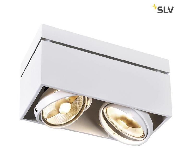 Kardamod Double ES111 WIT plafondlamp