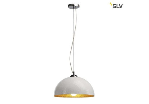 SLV Forchini PD-2 wit / goud hanglamp