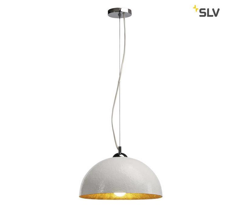 Forchini PD-2 wit / goud hanglamp