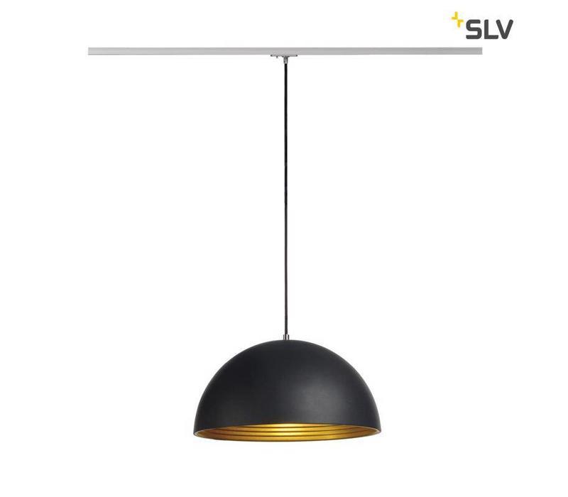 Forchini M ZWART hanglamp 1-fase