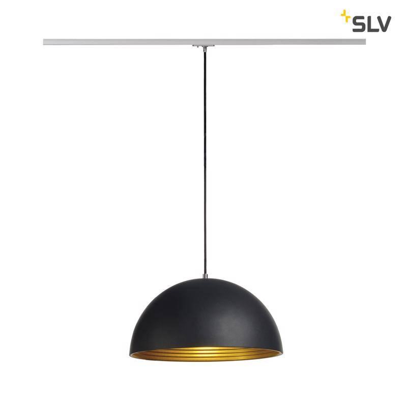SLV Forchini M ZWART hanglamp 1-fase