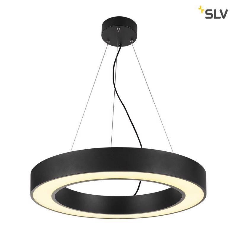 SLV Medo Ring 60 ZWART hanglamp