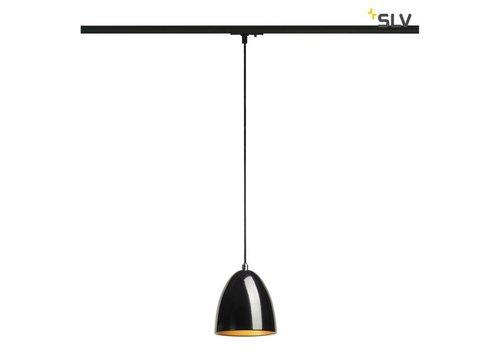 SLV Para Cone 14 ZWART hanglamp 1-fase