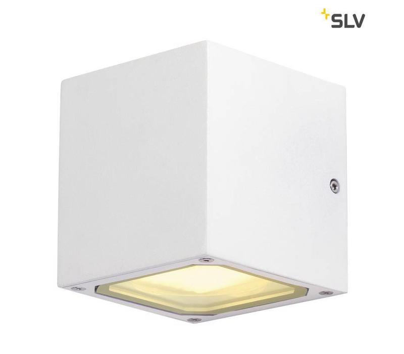 Sitra Cube WIT wandlamp