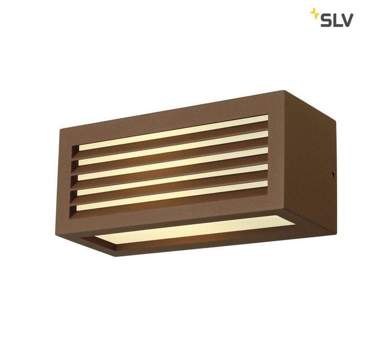 BOX-L E27 ROESTKLEUR wandlamp