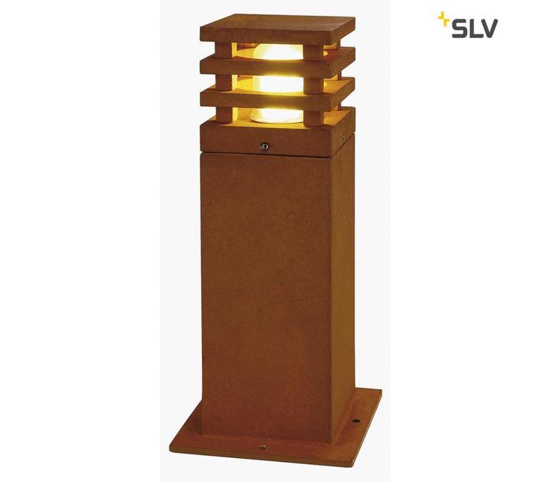 Rusty Square 40 LED tuinlamp