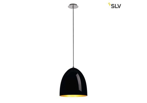 SLV PARA CONE 30 Zwart / goud hanglamp