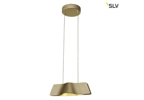 SLV WAVE Messing LED hanglamp