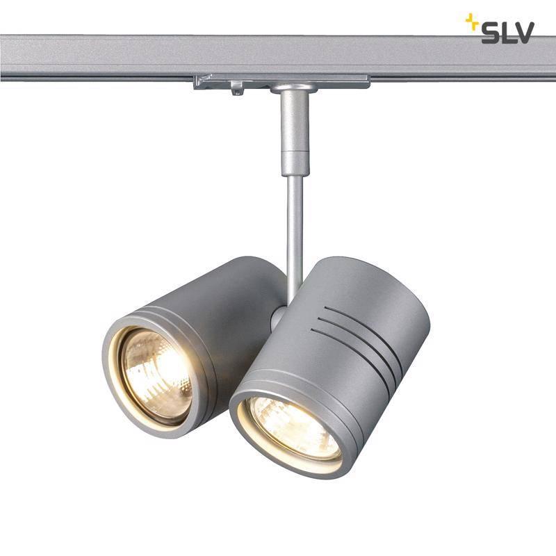 SLV Bima 2 Grijs 1-fase railverlichting