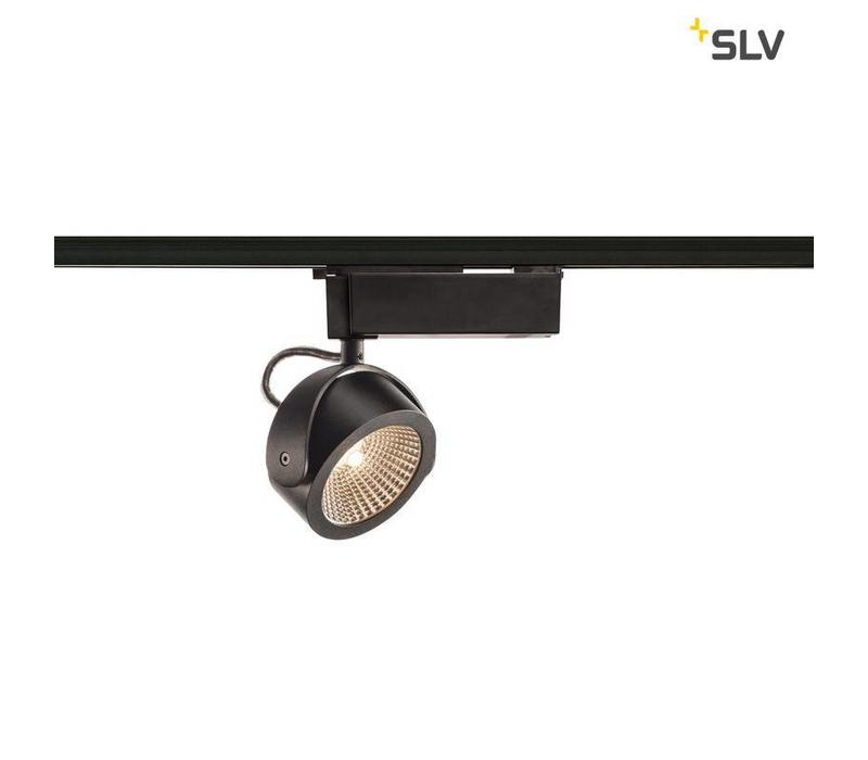 Kalu LED ZWART 60 1-fase railverlichting
