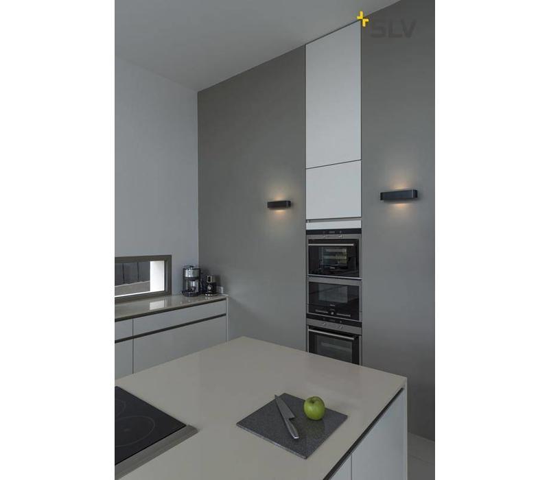 OSSA R7s 300 Zwart wandlamp