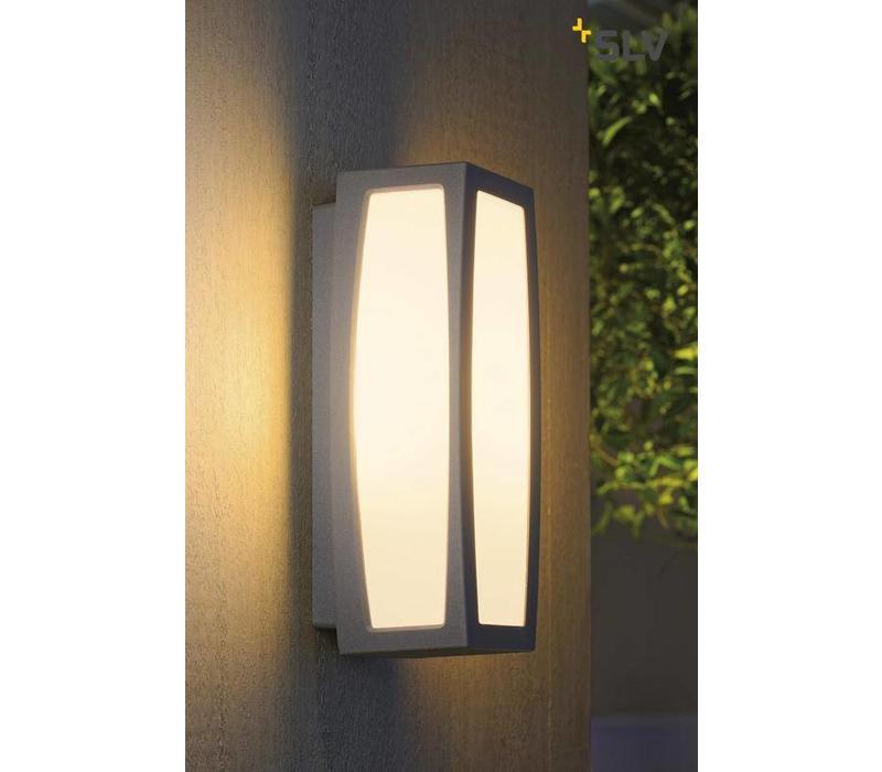 Meridian BOX grijs wandlamp