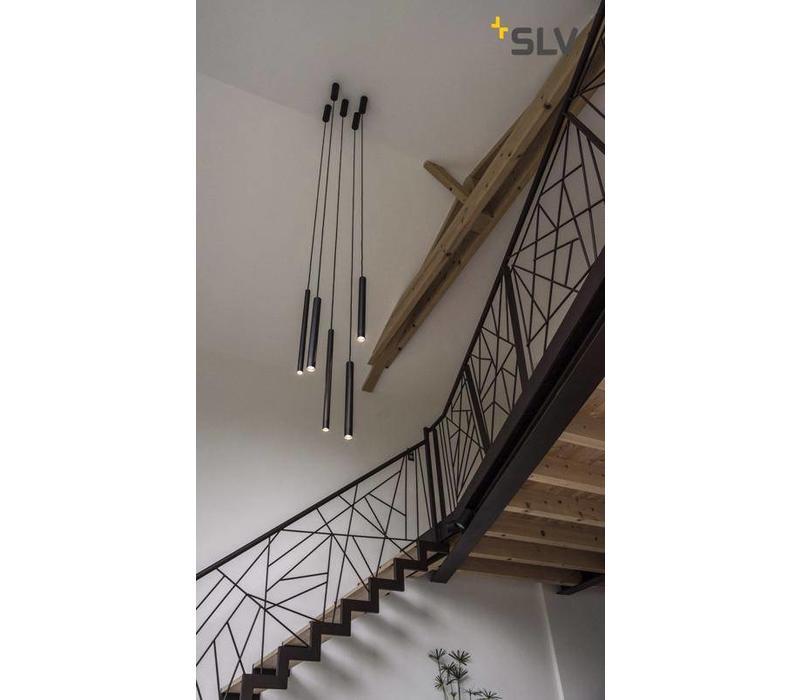 Helia 30 Zwart LED hanglamp