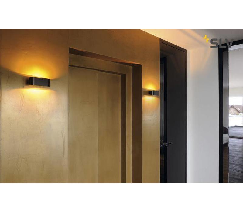 OSSA R7s Zwart wandlamp