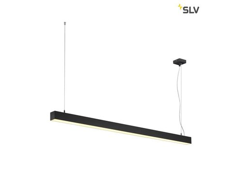 SLV Q-LINE Single LED Zwart hanglamp