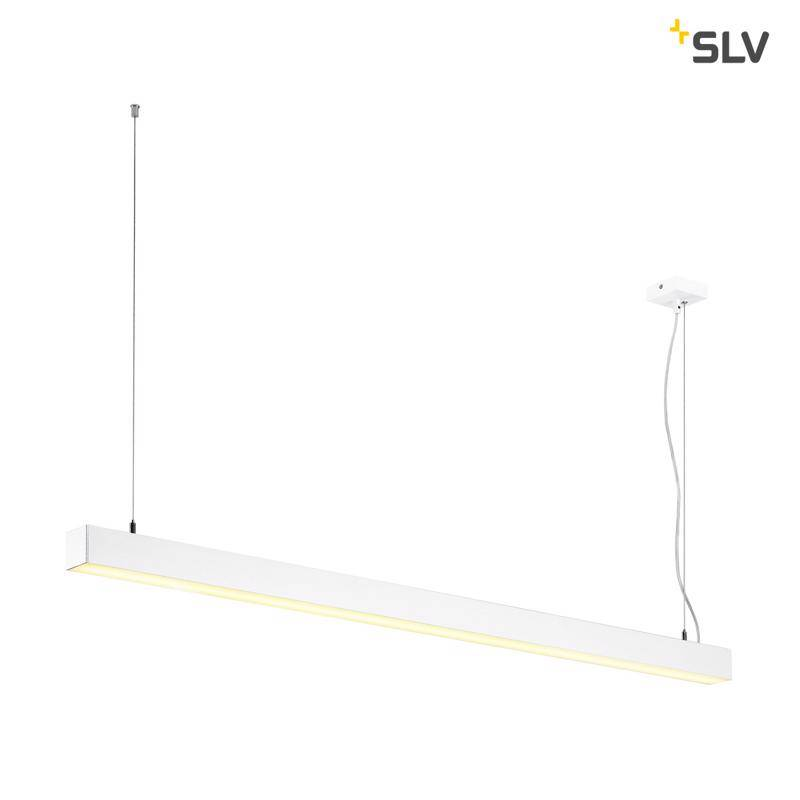 Slv Q-line Single Led Wit Hanglamp