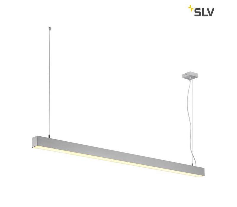 Q-LINE Single LED Grijs hanglamp
