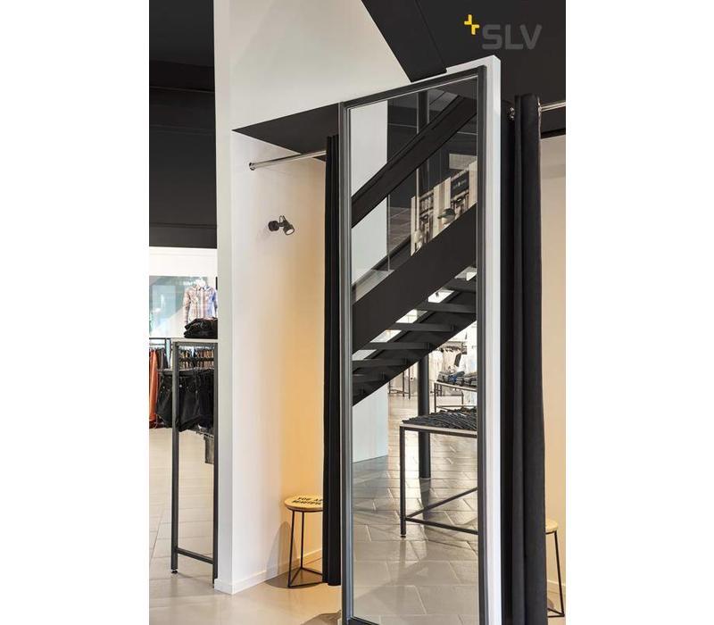 INDA spot GU10 ZWART plafondspot