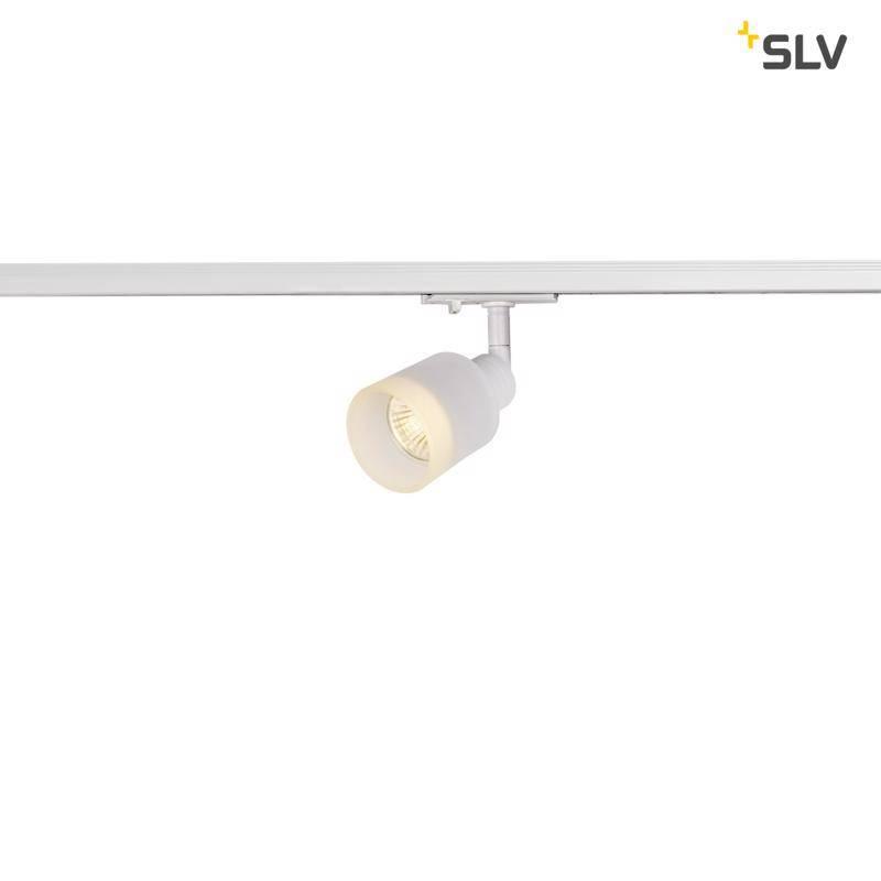 Slv Puri Glass Wit 1-fase Railverlichting