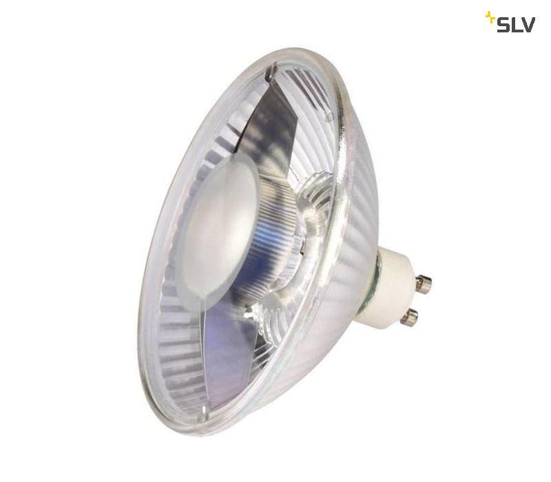 SLV LED GU10 111mm 10W 2700K switch dim
