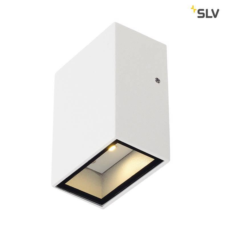 strakke witte wandlamp voor buiten