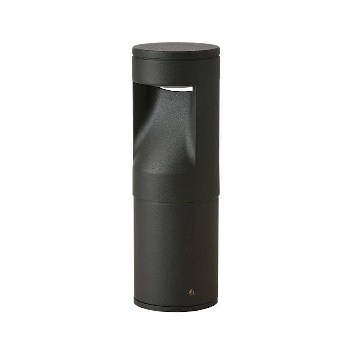 Ronde moderne staande tuinlamp, LED