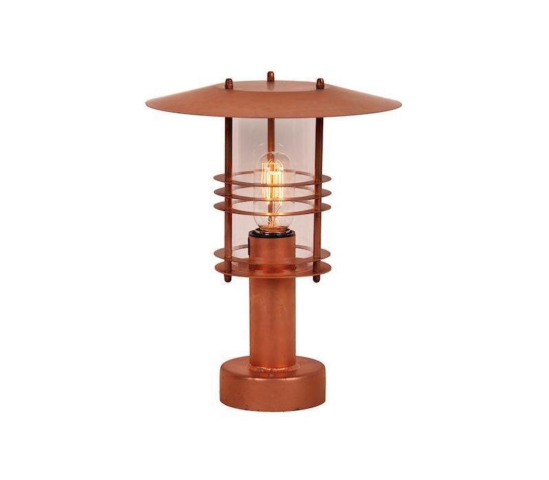 lage tuinlamp SELVA 3497 Koper 34 cm