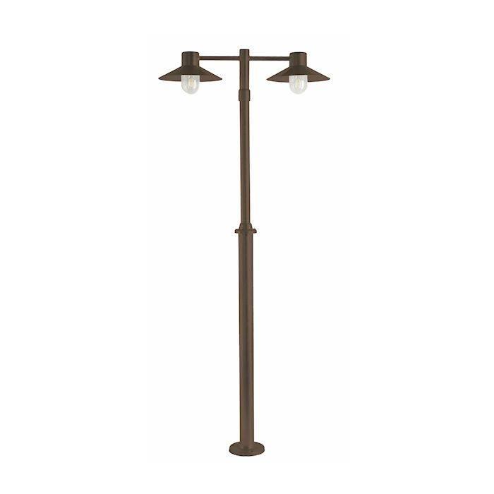Franssen Hoge tuinlamp SELVA Zwart 3745