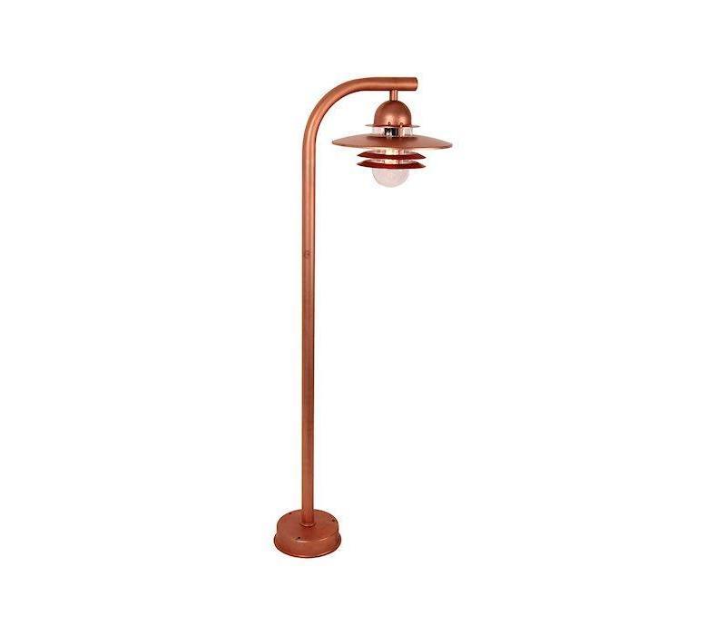 Tuinlamp SELVA Koper 118 cm
