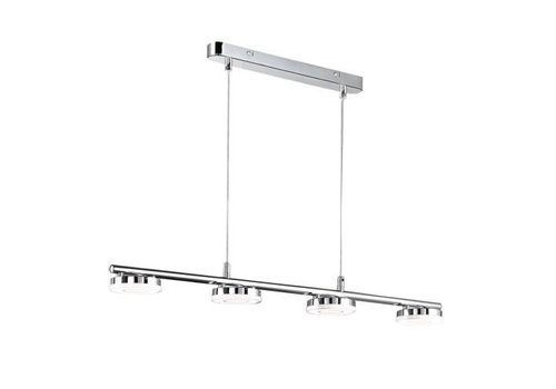 Reality RENNES 4x 4W chroom hanglamp