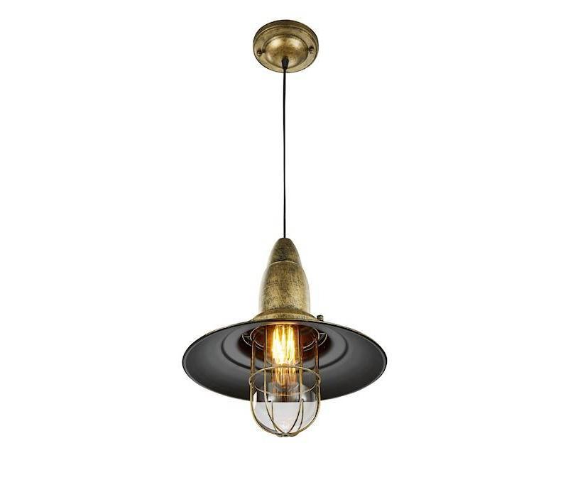 FISHERMAN hanglamp Oud Brons