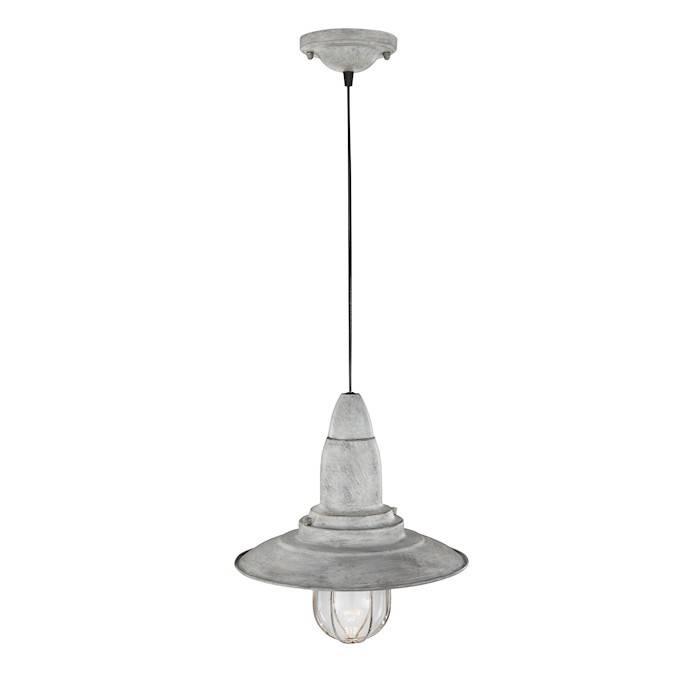 Trio FISHERMAN hanglamp Antiek grijs
