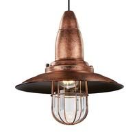 FISHERMAN hanglamp Antiek koper