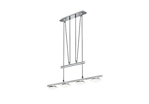 Trio PILATUS LED chroom hanglamp