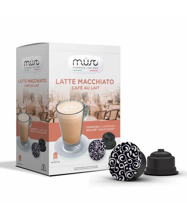 Must Espresso Italiano   Latte Macchiato
