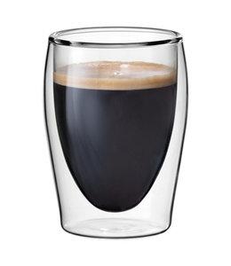 Scanpart | koffie thermo glazen 2 stuks 20cl