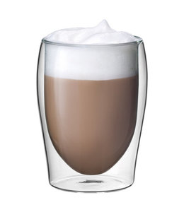 Scanpart | cappuccino thermo glazen 2 stuks 30cl