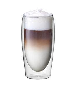 Scanpart | cafe latte thermo glazen 2 stuks 35cl